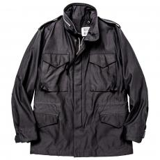 M-65 FIELD JACKET / BLACK OVER-DYE