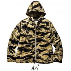 TIGER CAMOUFLAGE PARKA / GOLD TONE