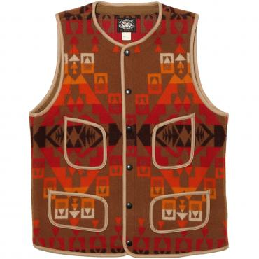 NATIVE WOOL BLANKET VEST